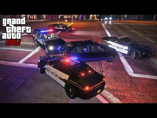 GTA 5 Roleplay - DOJ 364 - Boys in Blue