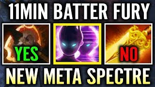 11 Min Battle Fury NEW META with Spectre Alohadance Carry Spectre Gameplay
