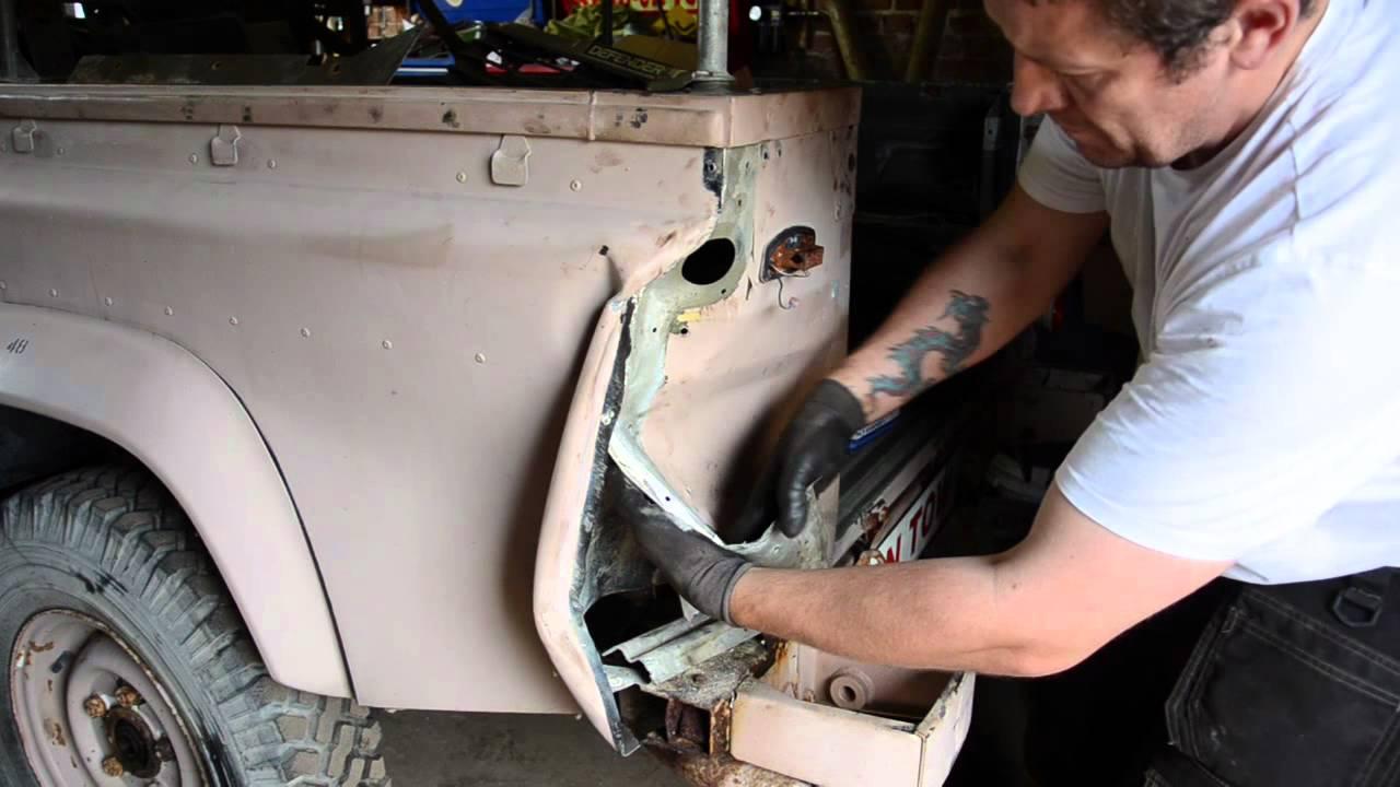 Land Rover Defender 110 Bodywork Youtube
