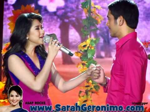 Offcam Catch Me I'm In Love Launch: Fallin' By Sarah Geronimo - With Gerald Anderson (20mar11) video