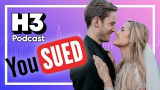 PewDiePie's Wedding & YouTube Sues Copyright Troll - H3 Podcast #136