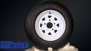 Carlisle USA Trail Trailer Tire and Wheel 5.30x12 (5 Lug)