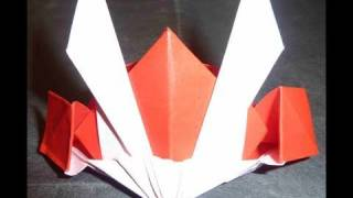 How To Make Cool Gundam Hat Origami (shogun Hat) カブト折り紙 机动战士折纸 Guerrero