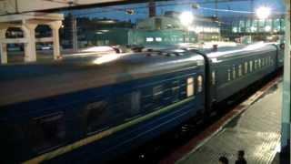 Прибытие ЧС8-063 с поездом №17 Анапа — Киев