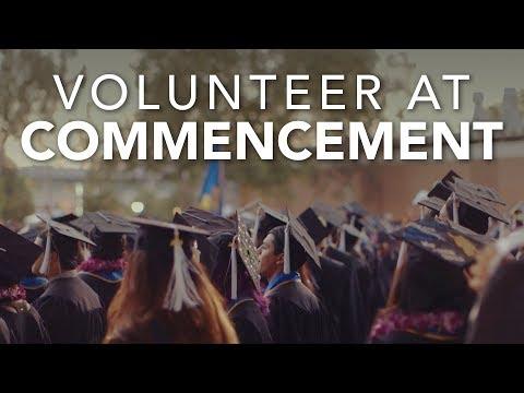 Commencement Volunteer Video