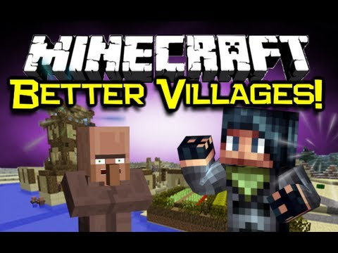 Minecraft – VILLAGE-UP MOD Spotlight! – Better NPC Villages! (Minecraft Mod Showcase) – 2MineCraft.com