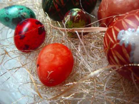 Hristos Vaskrse! - Vaskrsnja bojena jaja