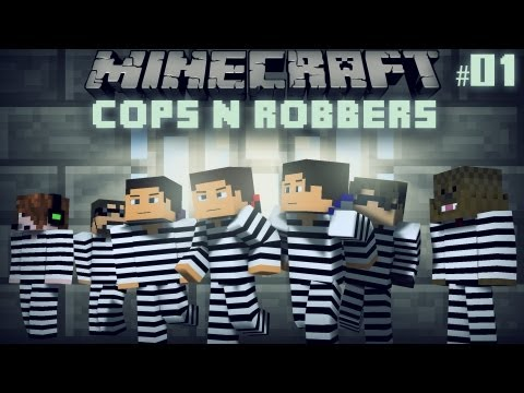 Minecraft: Cops n' Robbers 2.0 w/ SkyDoesMinecraft. DeadloxMC. JeromeASF. and SSundee - Episode 1