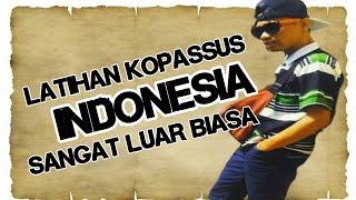Latihan ekstrim kopassus indonesia disorot media dunia