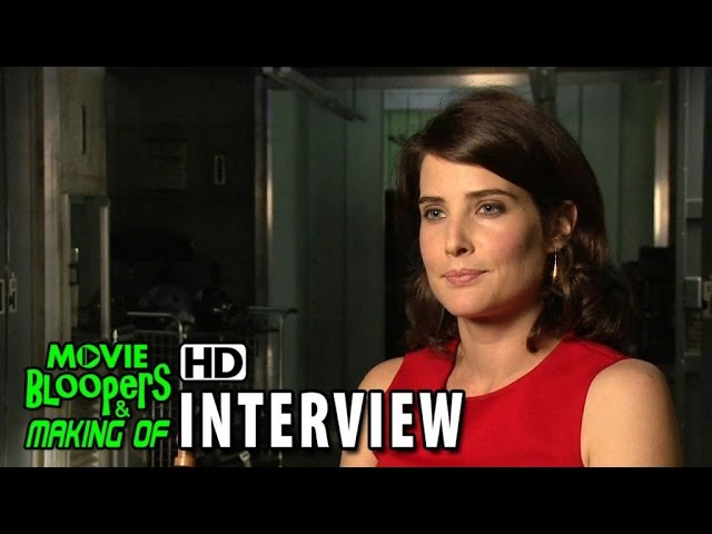 Avengers: Age of Ultron (2015) BTS Movie Interview - Cobie Smulders (Maria Hill)