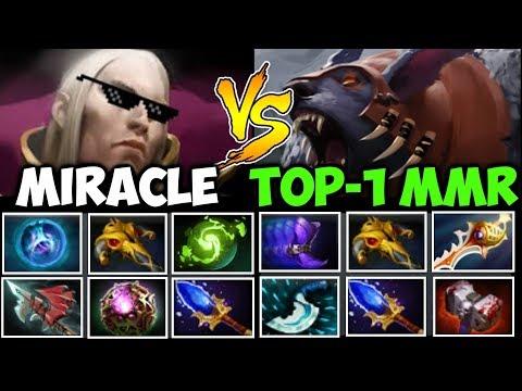 MIRACLE- vs MATUMBAMAN [EPIC] INVOKER GOD vs TOP-1 RAPIER URSA