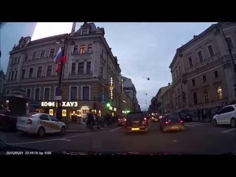 Санкт - Петербург. Весь Невский проспект. HP f100 (Full HD)