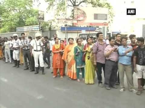 Mamata Banerjee undertakes 'padyatra' in poll-bound Kolkata