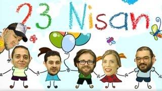 23 Nisan Ulusal Egemenlik ve Çoçuk Bayramımız Kutlu Olsun!