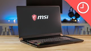 MSI GS75 Stealth Unboxing and First Impressions