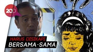 Jokowi Bicara Kasus Audrey: Ada Masalah Interaksi Sosial di Medsos