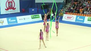 Russia, 2 hoops & 3 ribbons,  Gazprom Cup Grand Prix 2012