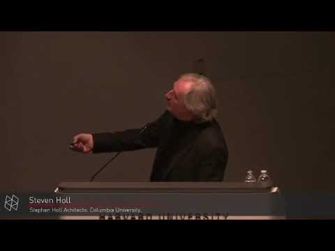 Discussions in Architecture: Steven Holl with Preston Scott Cohen