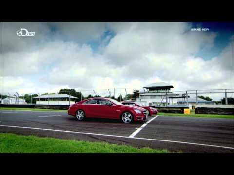 Porsche Panamera GTS VS Mercedes CLS AMG Drag Race