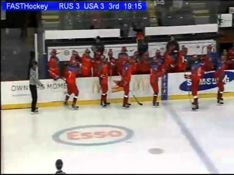2013 WHC-17: 1/2 Russia 6-4 USA