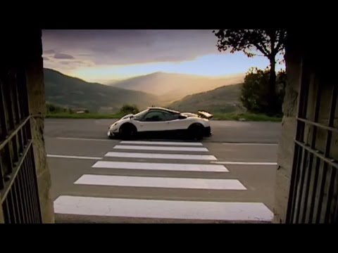 Only 5 in the world! The Zonda Cinque – DIY Top Gear – Top Gear Uncovered