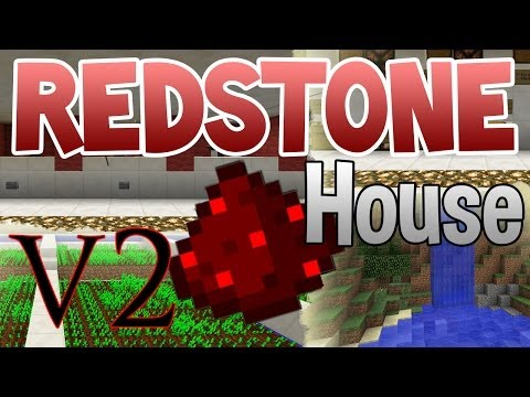 [1.7+] Minecraft- Awesome Redstone/Piston House v2 | One of the BEST