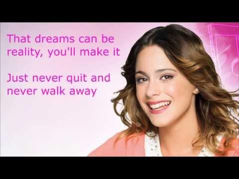 Violetta Ser Mejor English Lyrics