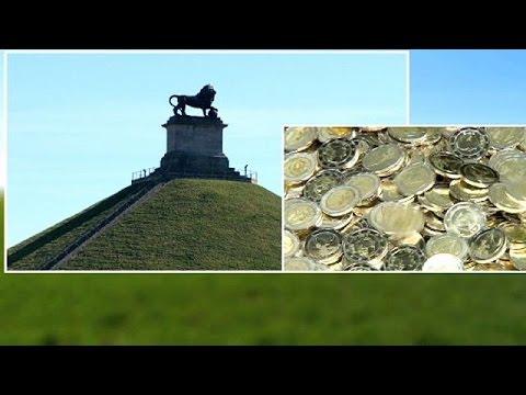 بلجيكا تستجيب لطلب فرنسا و تلغي اصدار نقود تذكارية خاصة بعركة واترلو