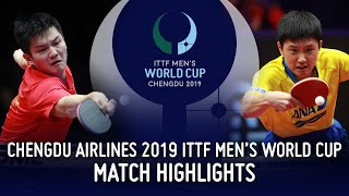 Fan Zhendong vs Tomokazu Harimoto | 2019 ITTF Men's World Cup Highlights (Final)