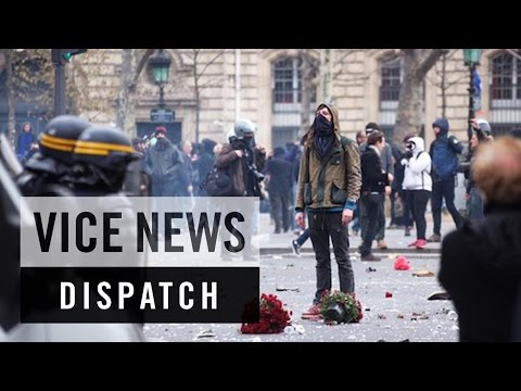 Police Clash With Protesters in Paris: COP21 - Climate Emergency (Dispatch 1)