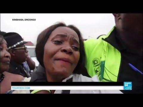 La dépouille de Papa Wemba est arrivée en RDC - Les Congolais se sont déplacés à Kinshasa