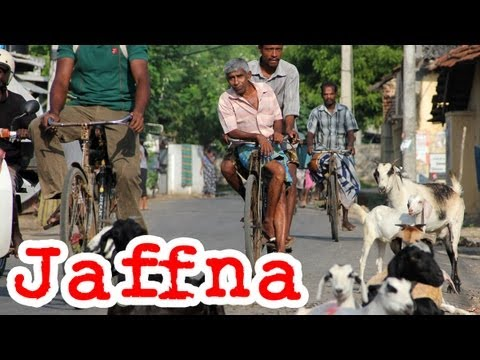 Jaffna Town: Travel Video of Northern Tamil, Sri Lanka (யாழ்ப்பாணம்)