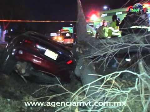 Fatal accidente a la entrada de Toluca