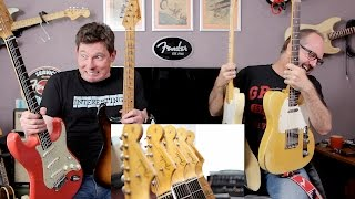 That Pedal Show Special – Real Vintage Fenders or our Reissues? Oh dear...