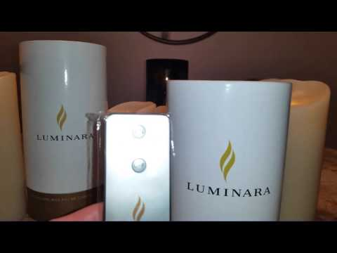 White Barn Luminara Candle Haul & Demo
