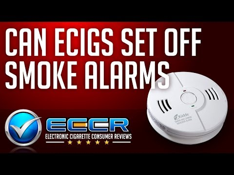 ECCR Xtra: Can Ecigs Set Off Smoke Detectors or Smoke Alarms?