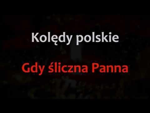 Kolędy I Pastorałki Karaoke - Gdy śliczna Panna - Karaoke (instrumental + Tekst)