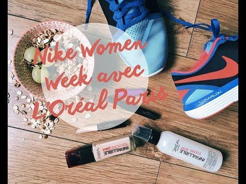 Nike Women Week avec L'Oréal Paris