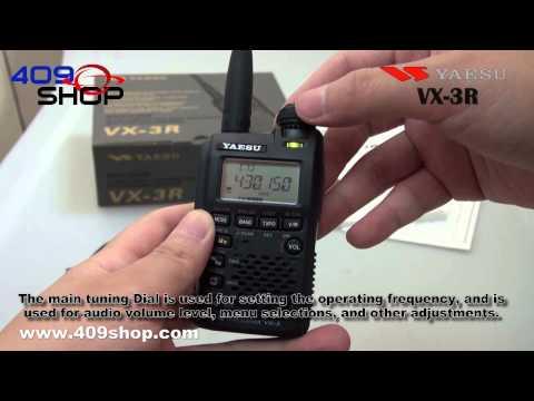 YAESU VX-3R Ultra-compact Handheld Transceiver