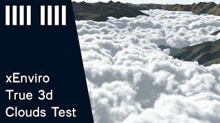 xEnviro 1.10 true volumetric clouds (proof of concept)