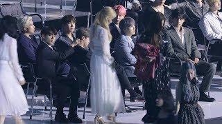 190424 BTS 트와이스(TWICE) 인식한 방탄소년단, 슈퍼쥬니어 선배들에게 인사 4K 직캠 by 비몽