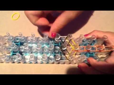 Rainbow Loom ring tutorial!