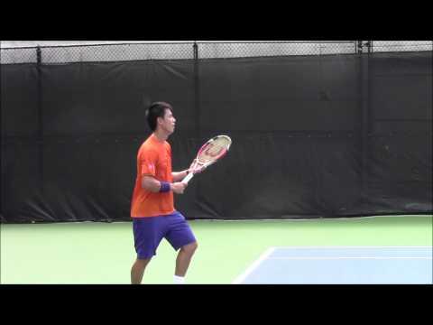 Kei Nishikori Practice at 2014 Citi Open (ATP Washington)
