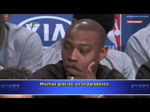 Kevin Durant El Discurso del MVP 2013 2014 Resumen Subtitulado JURORA verbateen