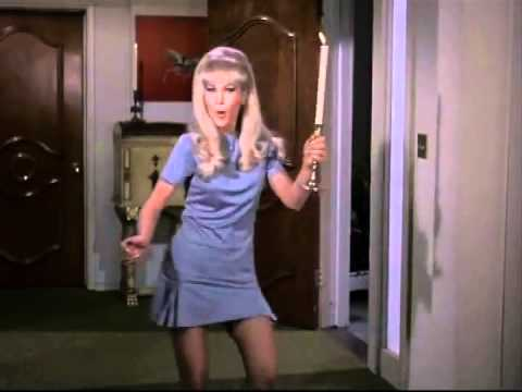 BARBARA EDEN does a Belly Dance Drum Solo!!!