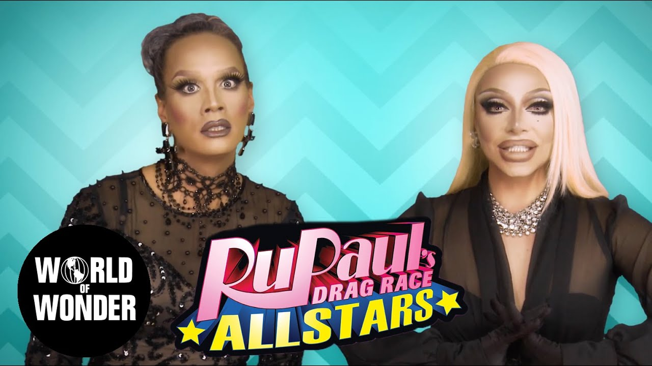 FASHION PHOTO RUVIEW: All Stars 2 Ep 1 with Raja and Raven - RuPaul's Drag Race