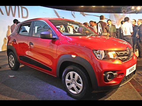 Renault Kwid 2015 First Review, India launch