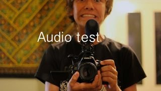 Rode video mic test