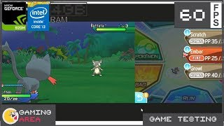 Pokemon Ultra Moon Citra Emulator on Low End Laptop