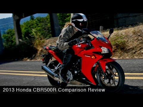 2013 Honda CBR500R vs Ninja 300 & 650 Comparison - MotoUSA
